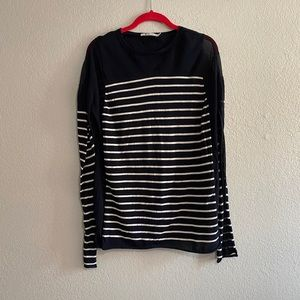T by Alexander Wang striped sweater
